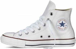 Converse biele topánky Chuck Taylor All Star Leather White