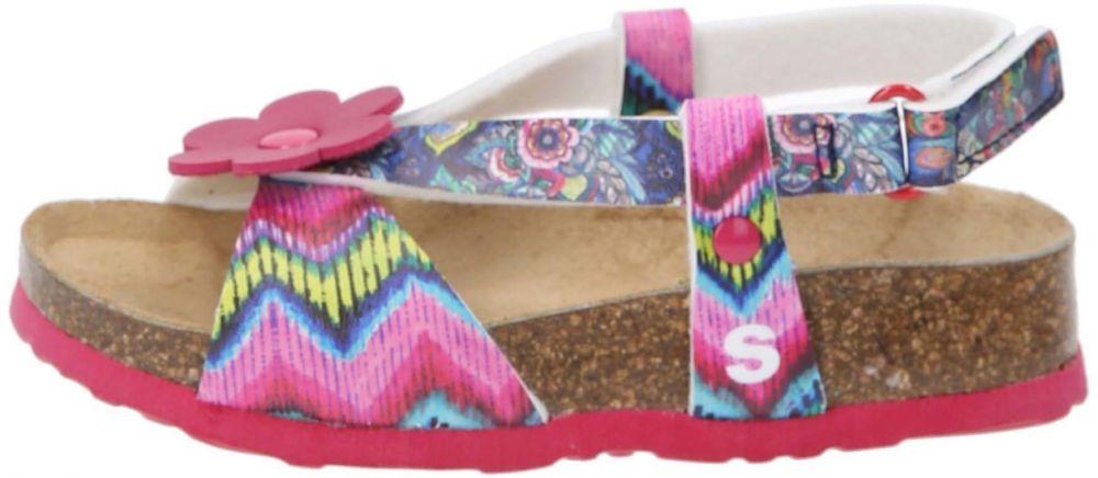 b612db3a7302 Desigual ružové dievčenské sandálky Bio 3 značky Desigual - Lovely.sk