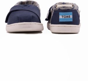 Toms modré detské topánky Bimimi Navy Canvas   Jersey Anchors značky ... 43d1f0c6b27