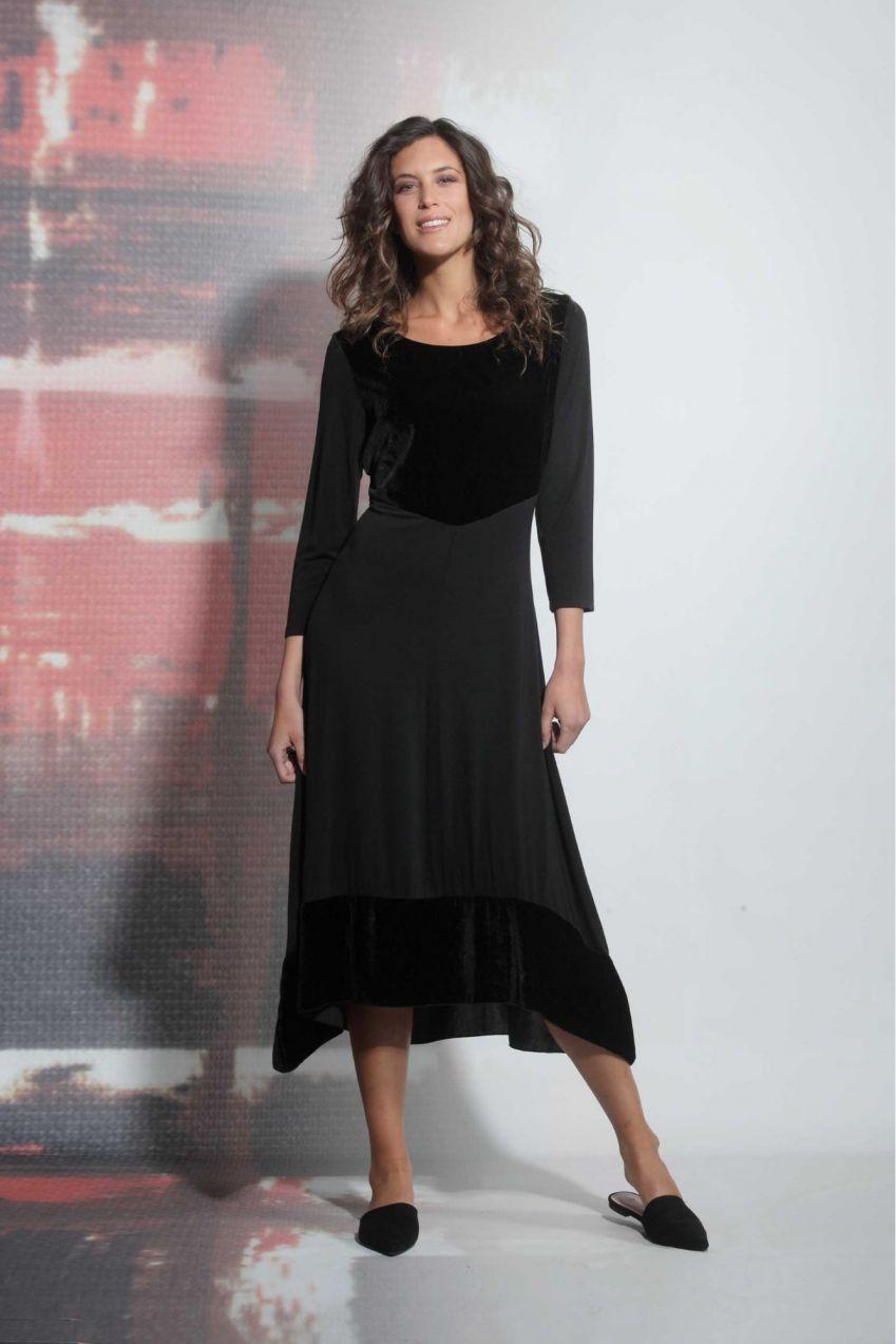Deha čierne dlhé maxi šaty značky DEHA - Lovely.sk d9deb7f0f50