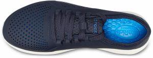 9db7a7205a1 Crocs tmavo modré dámske tenisky Literide Pacer Navy White značky ...