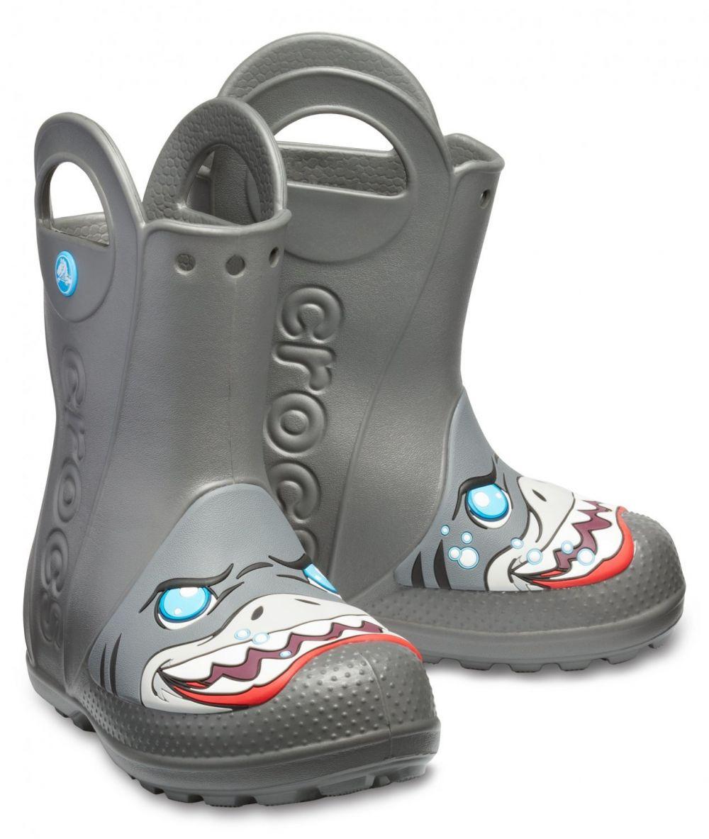 Crocs sivé gumáky Creature Rain Boot Slate Grey f86e1a3e1b