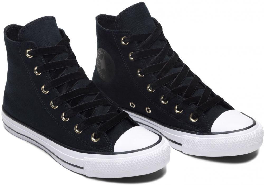 Converse čierne členkové tenisky Chuck Taylor All Star Hi Black White  značky Converse - Lovely.sk 34c7758a519