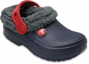 Crocs Chlapčenské zateplené sandále Kids  Classic Fuzz Lined Clog ... 85cb467f19