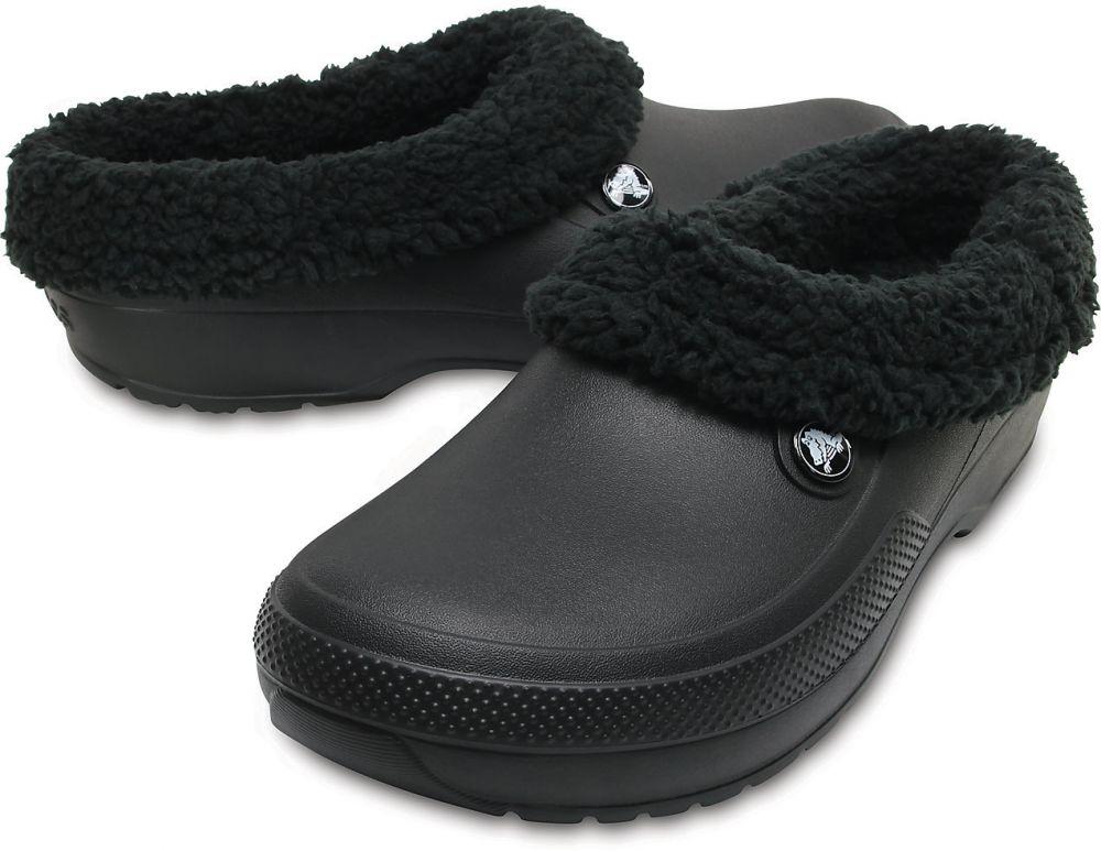 Crocs dámske zateplené šľapky Classic Blitzen Clog Black značky ... be472babf8