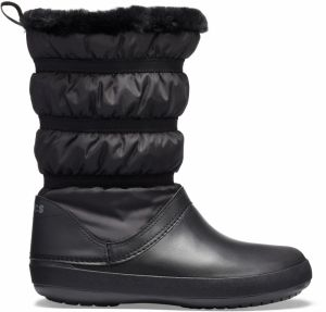 Crocs čierne snehule Crocband Winter Boot Black