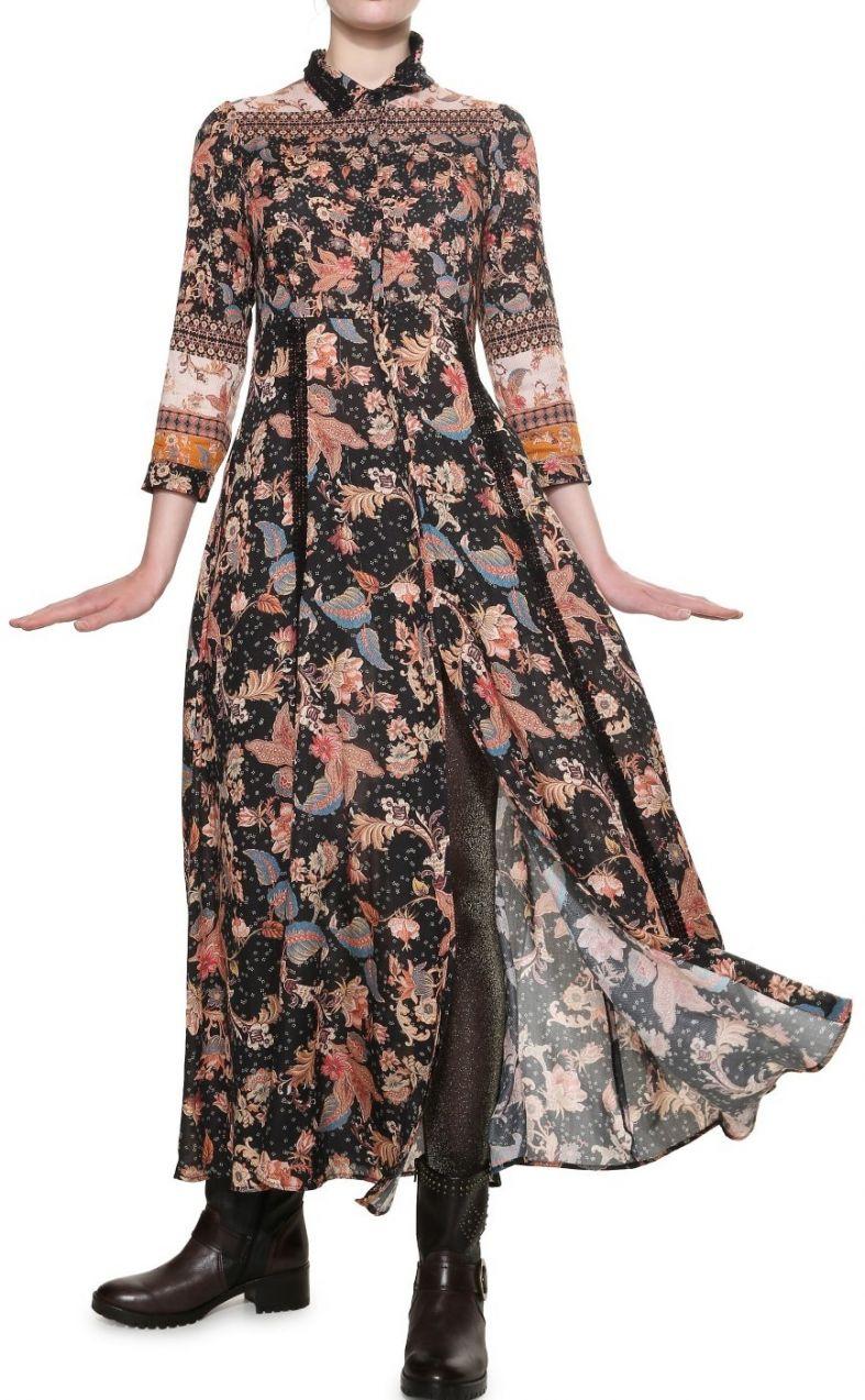 cd3480a71481 Desigual barevné šaty Erdenet značky Desigual - Lovely.sk