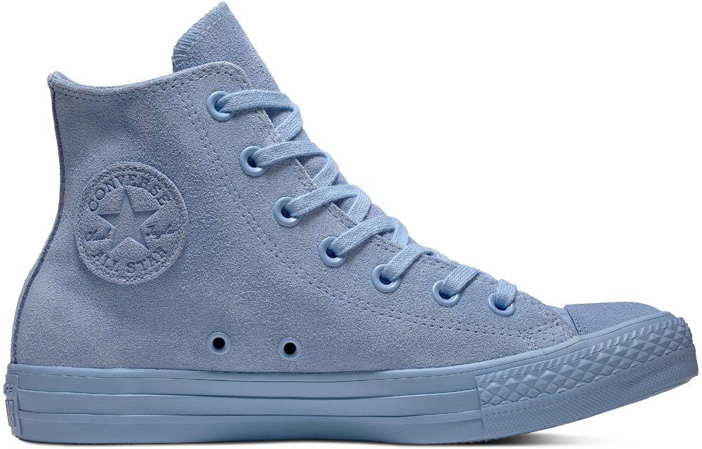 3f6fd2b0fd8d Converse modré kotníkové tenisky Chuck Taylor All Star Hi Light Blue značky  Converse - Lovely.sk