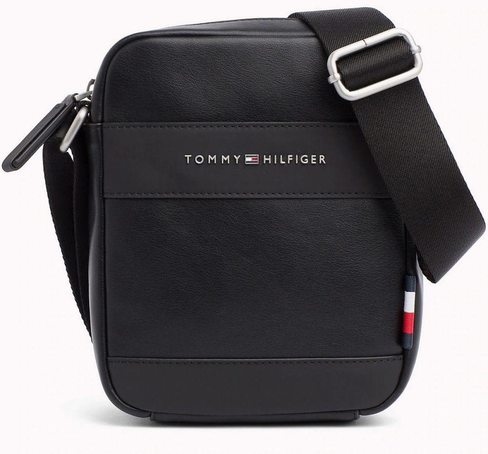 Tommy Hilfiger černá pánská taška TH City Mini Reporter značky Tommy  Hilfiger - Lovely.sk 70c574819a6