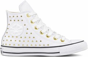 Converse biele tenisky Chuck Taylor All Star Hi White/Gold
