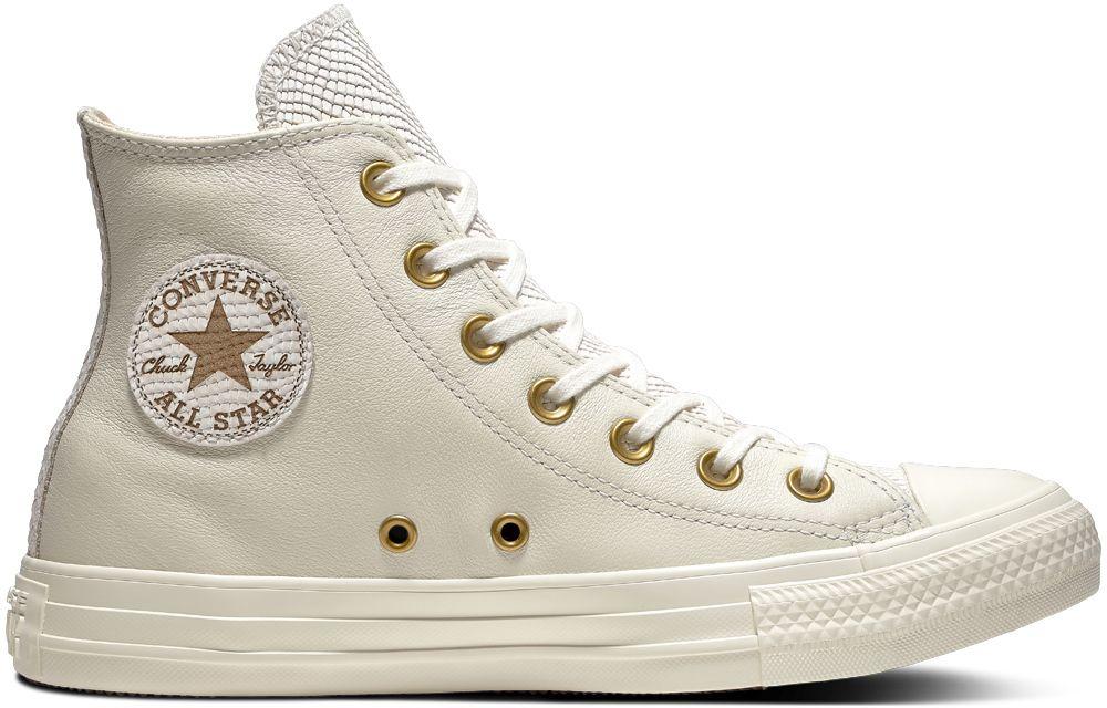 Converse smotanové členkové tenisky Chuck Taylor All Star Hi Egret Light  Twine značky Converse - Lovely.sk 748ef043dcd