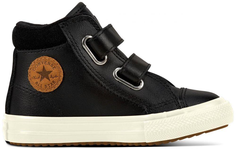 Converse černé kožené boty Chuck Taylor All Star 2V PC Boot Hi Black značky  Converse - Lovely.sk 5e365eef16
