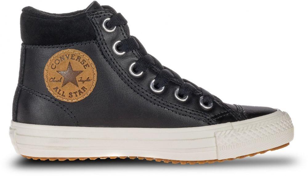 Converse černé kožené boty Chuck Taylor All Star PC Boot Hi Black značky  Converse - Lovely.sk b09cf520154