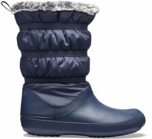 Crocs tmavo modré snehule Crocband Winter Boot Navy