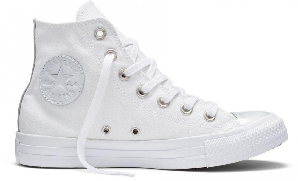 Converse perleťové dámske tenisky Chuck Taylor All Star White   Pure Silver  značky Converse - Lovely.sk 707984cacbf
