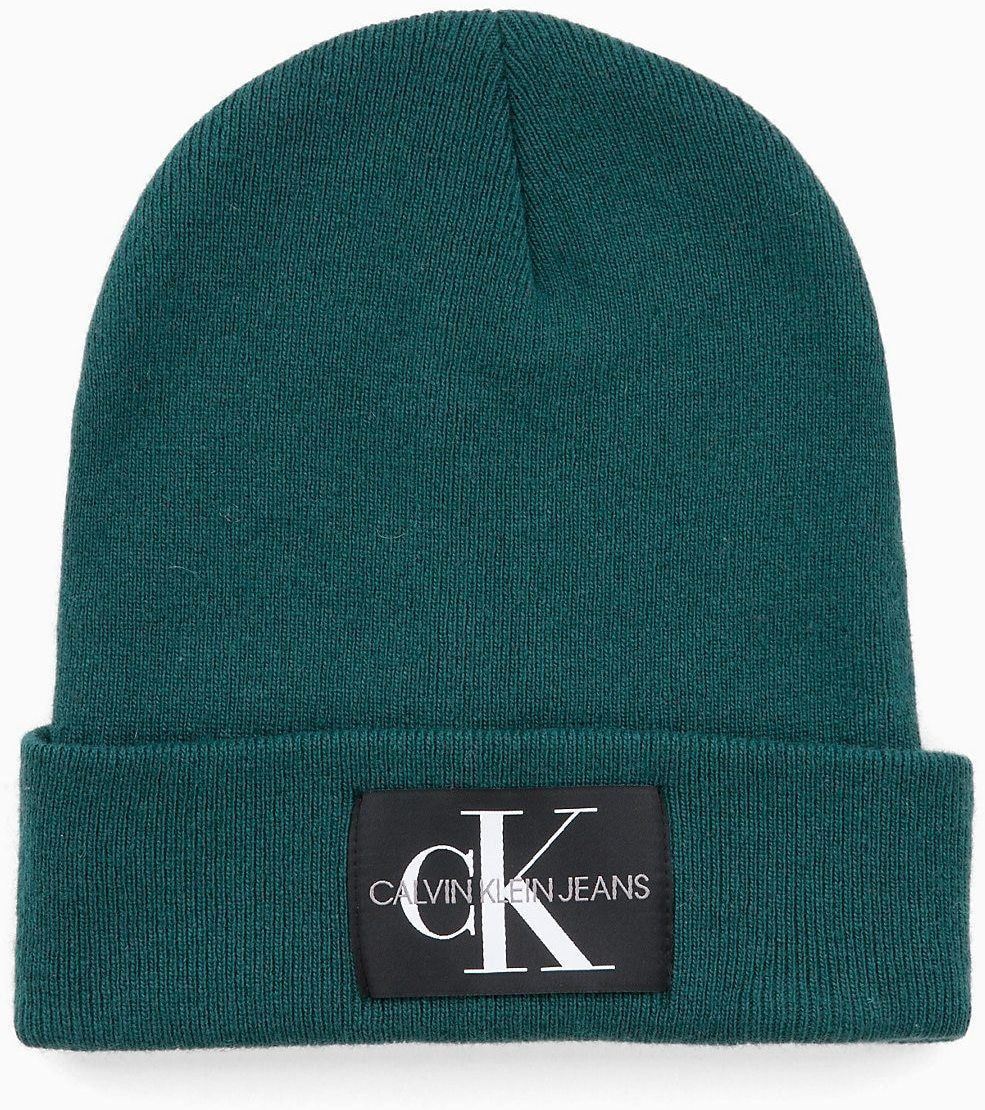 4a37a6cab774 Calvin Klein petrolejová unisex čiapka J Basic Knitted značky Calvin ...