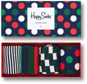 Happy Socks darčekový set ponožiek Holiday Big Dot