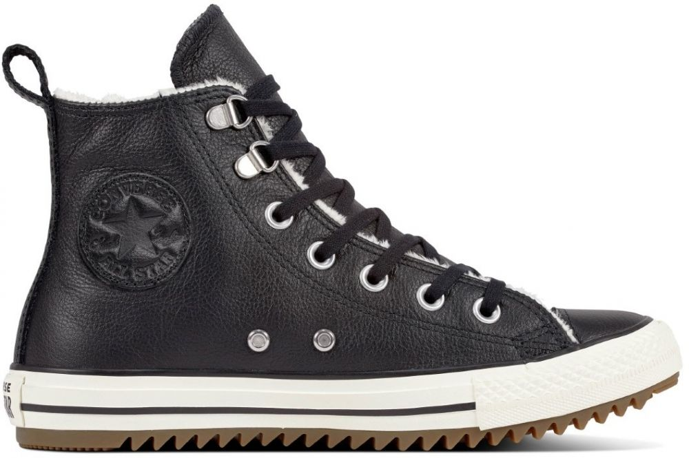 Converse čierne unisex zimné tenisky Chuck Taylor All Star Hiker Boot Hi  Black 8c824f29fc7