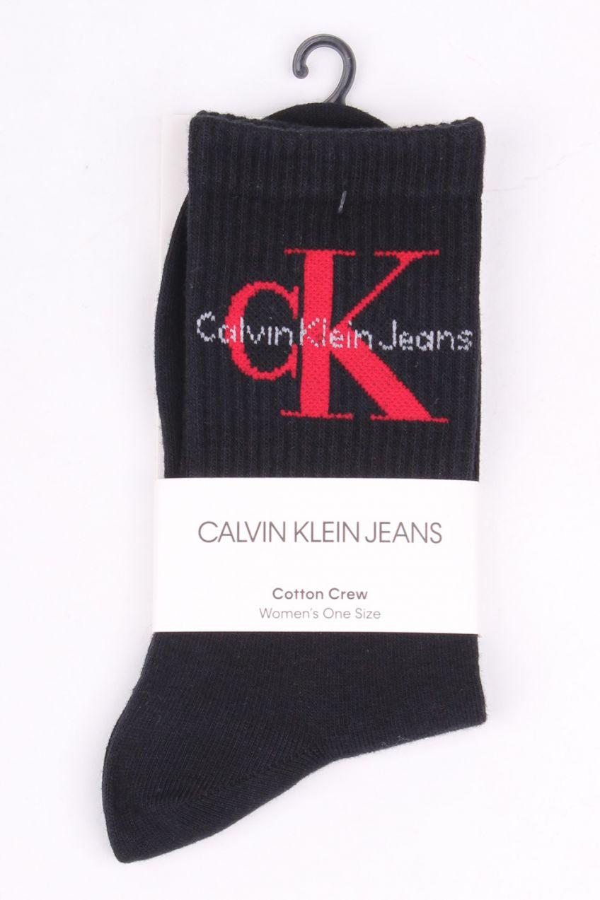 b9d55e57a21 Calvin Klein čierne ponožky Jeans Logo BLack Red značky Calvin Klein -  Lovely.sk