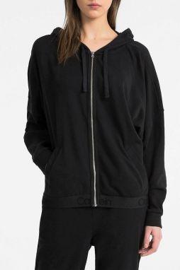 Calvin Klein Dámska mikina Top Hood ie W   Zip QS5547E-001 L značky ... 096e051feed