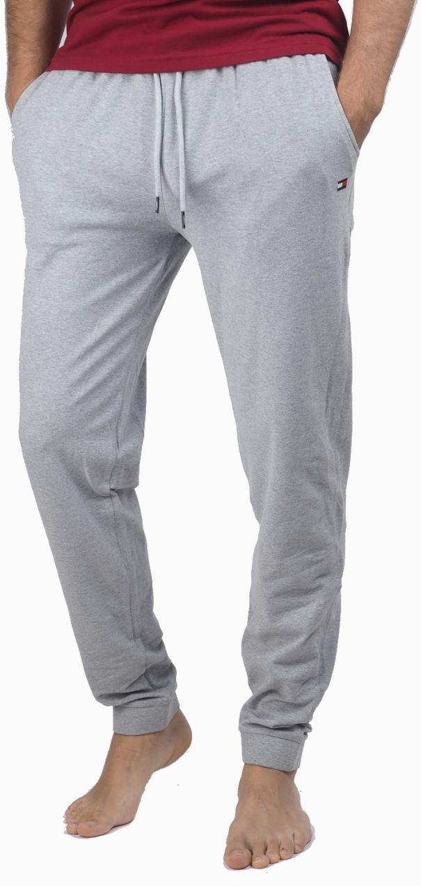 Tommy Hilfiger svetlo sivé pánske tepláky Jersey Pant značky Tommy Hilfiger  - Lovely.sk 7a09257ba3
