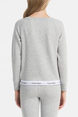 Calvin Klein sivá dámska mikina Top Sweatshirt značky Calvin Klein ... 430caca5578