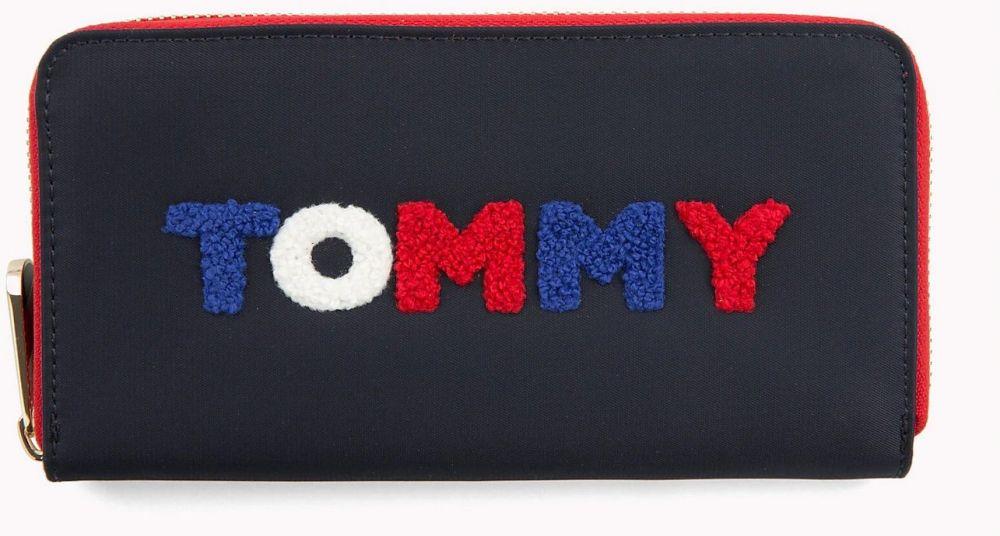 615888301d Tommy Hilfiger modré peňaženka Poppy Lrg Wallet značky Tommy Hilfiger -  Lovely.sk