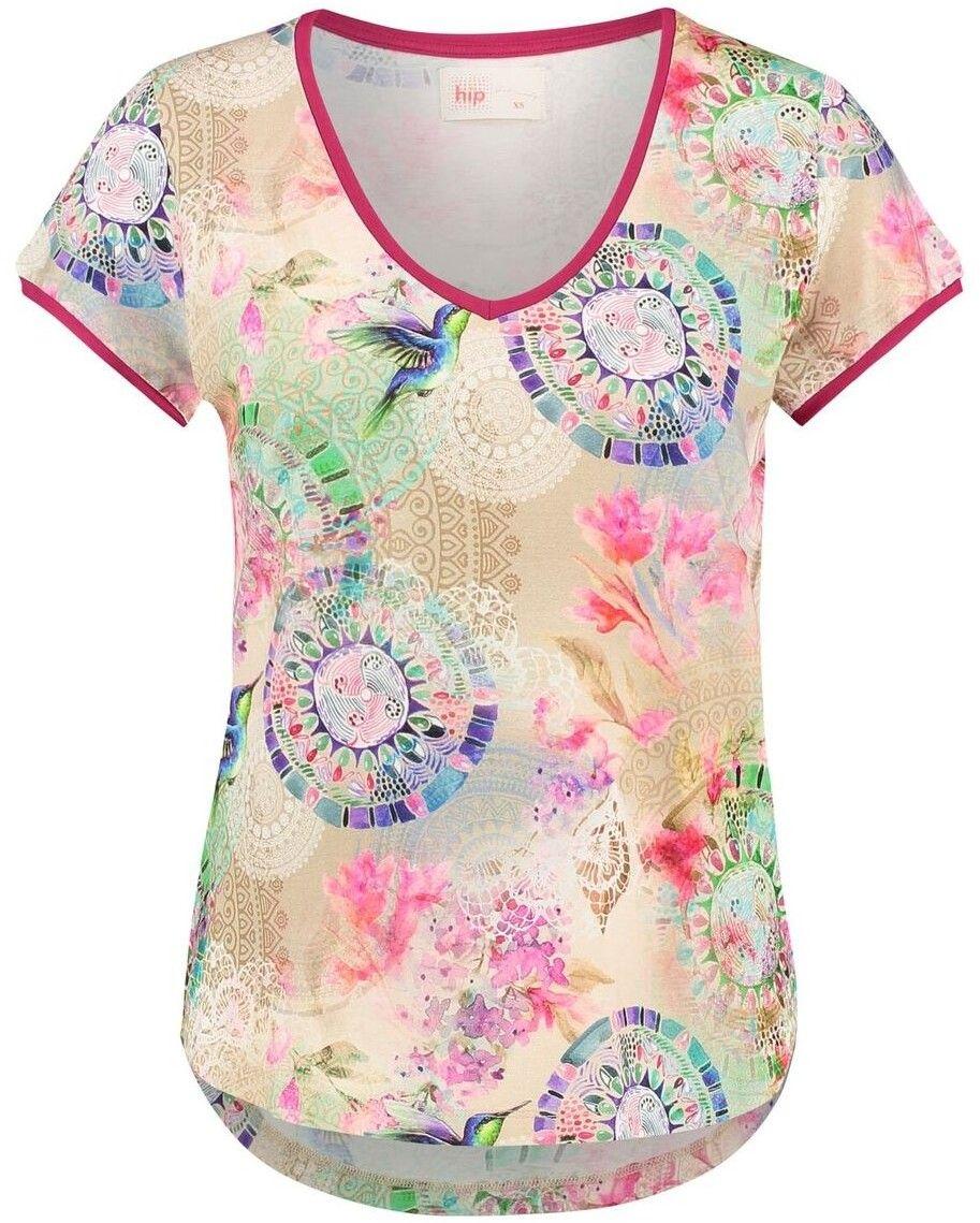 627b3326c4dd Home ružové dámske tričko Hip Pallavi T-shirt značky Home - Lovely.sk