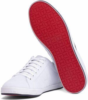 759ae41a1f68 Tommy Hilfiger biele pánske tenisky Essential Flag Detail Sneaker White  galéria