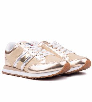 3e6c19ced901 Tommy Hilfiger zlaté tenisky Lady 3Z1 Antique Gold značky Tommy ...