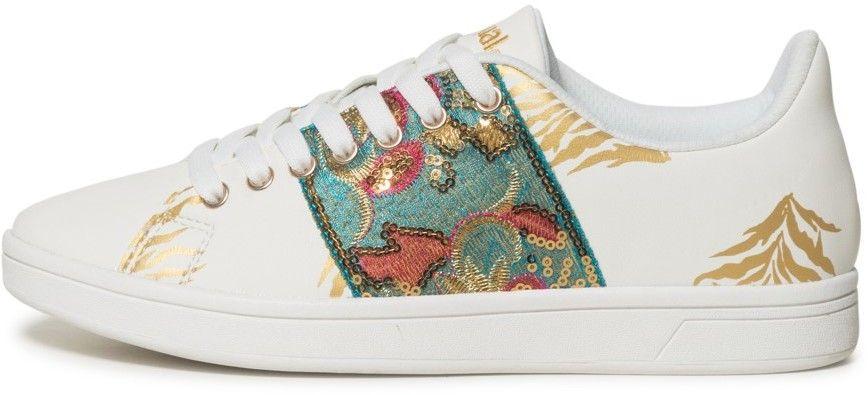 04ba2f416bde Desigual farebné tenisky Shoes Cosmic Exotic Tropical značky ...