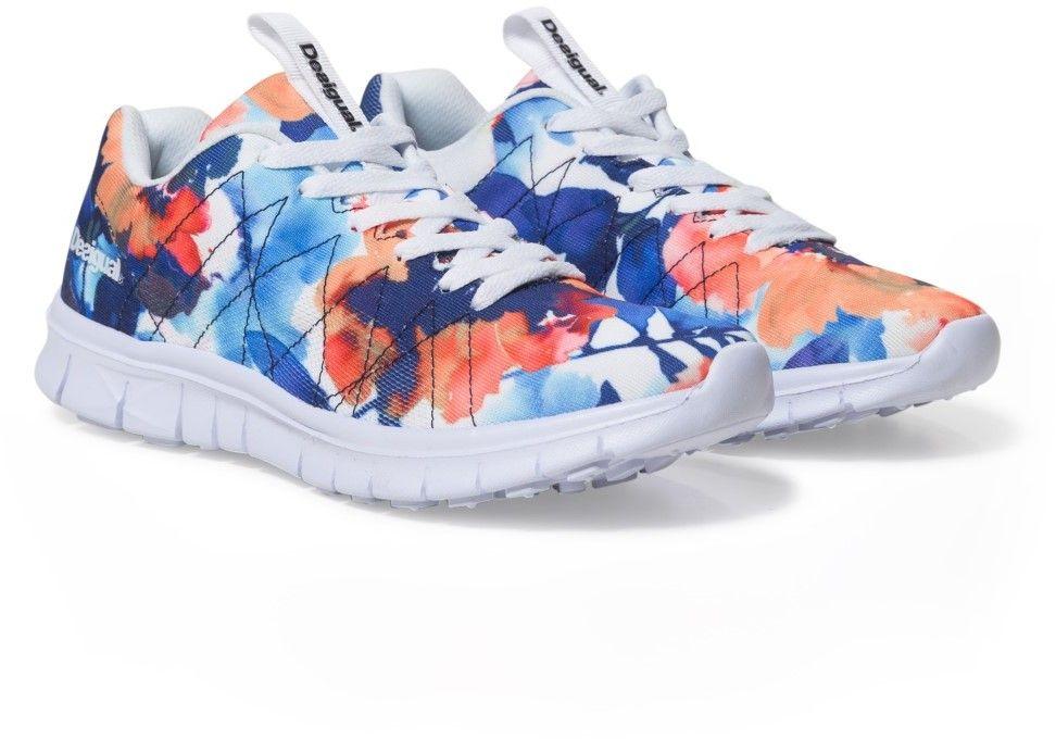 5d5239627999 Desigual farebné športové topánky Running Camo Flower značky ...