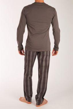 e0b45cc25d Calvin Klein sivé pánske pyžamo L S Pant Set značky Calvin Klein ...