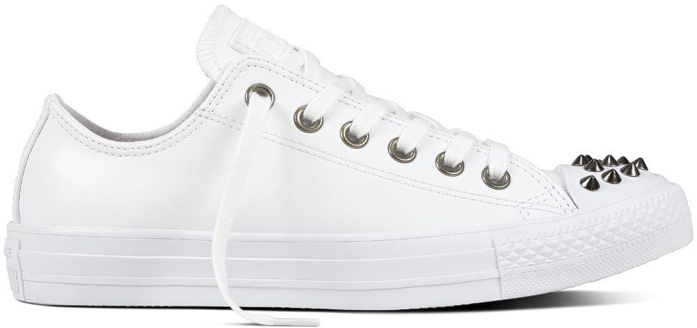 c1b5c3264 Converse biele dámske tenisky Chuck Taylor All Star Studs White značky  Converse - Lovely.sk