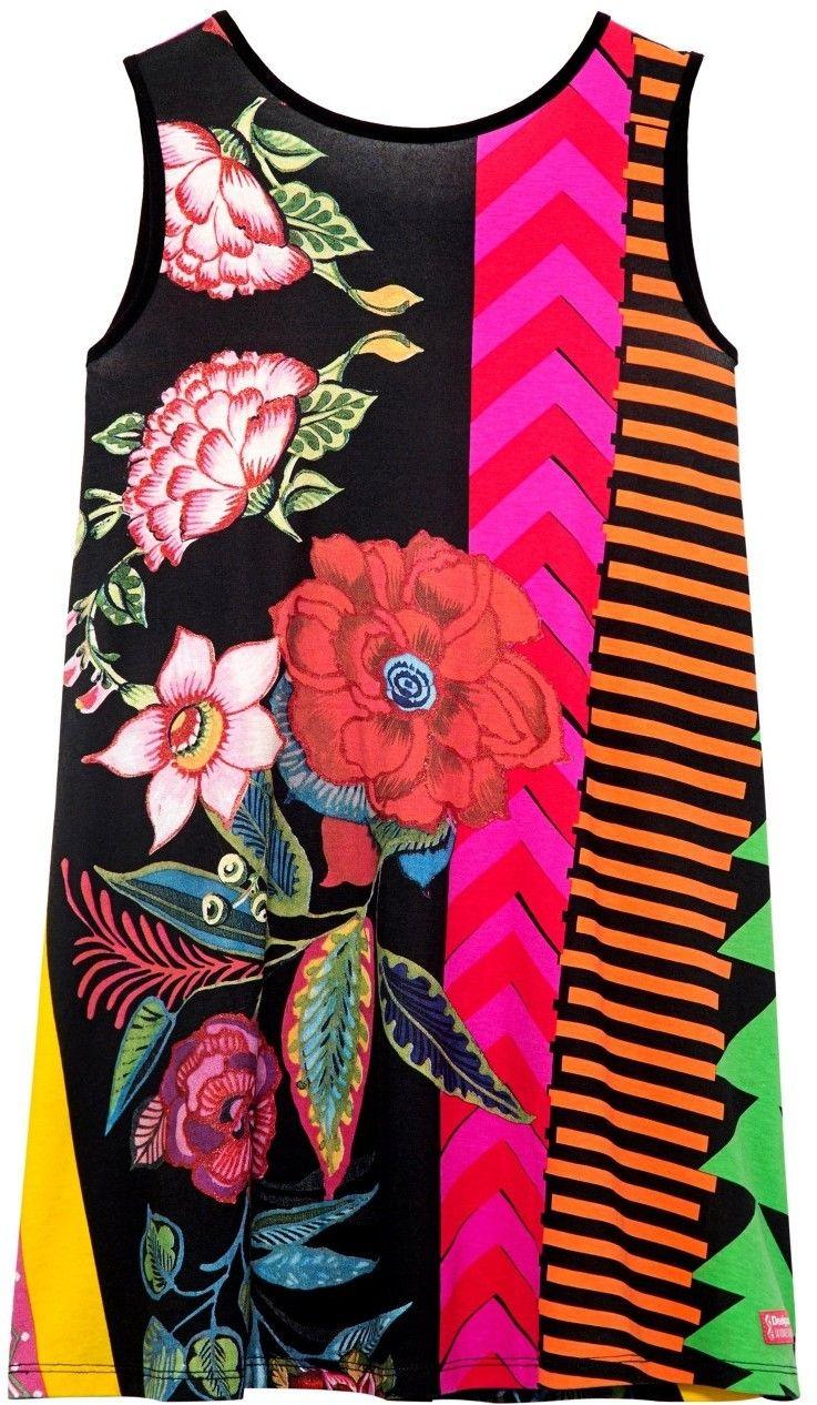 9625f3fd1e02 Desigual farebné dievčenské šaty Windhoek značky Desigual - Lovely.sk