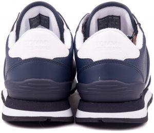 3ccc47270b3 Tommy Hilfiger modré pánske kožené tenisky Lifestyle Tommy Jeans Sneaker Ink  galéria