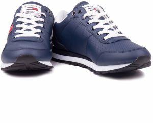 Tommy Hilfiger modré pánske kožené tenisky Lifestyle Tommy Jeans Sneaker Ink  galéria 461ddc21a6c