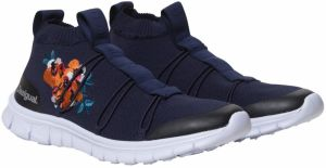 8d5e335eab Desigual modré športové tenisky Ankle Knitted Sneaker