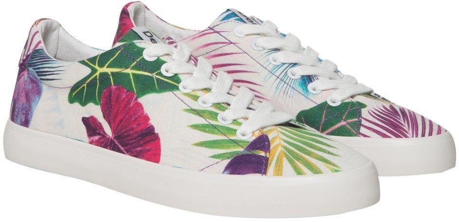 1be6af9487f3 Desigual farebné tenisky Sneaker Canvas Bio Patching značky Desigual ...