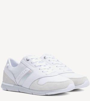 bf794c814880a Tommy Hilfiger biele tenisky Iridescent Light Sneaker White/Silver