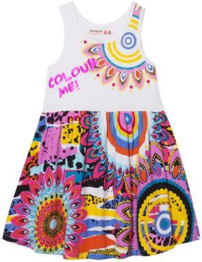 f780ac8449fc Desigual čierno-biele dievčenské šaty Blondie značky Desigual ...