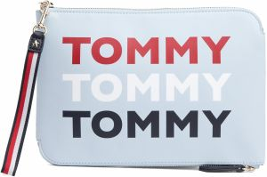 Tommy Hilfiger modré puzdro Iconic Tommy Pouch Print