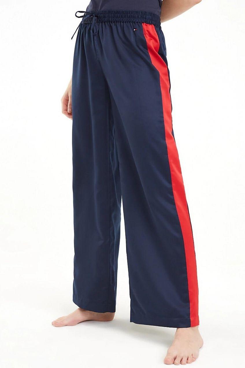 d29df21c09ec Tommy Hilfiger tmavo modré voľnočasové nohavice Wide Leg Pant značky ...