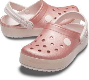 07b8d7fd8574 Crocs ružové dievčenské šľapky Crocband Ice Pop Clog Barely Pink