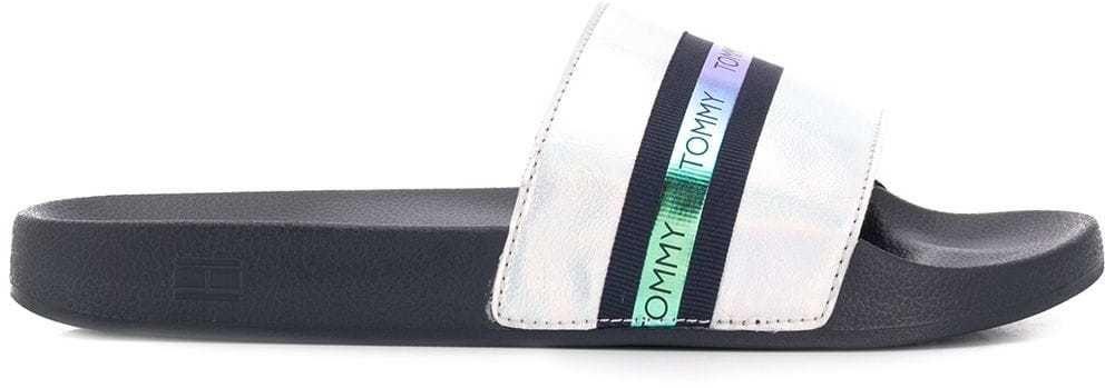 e60eed241 Tommy Hilfiger modré šľapky Pool Slide Shiny Iridescent Midnight značky Tommy  Hilfiger - Lovely.sk