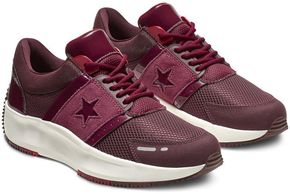 eab2c1cced Converse vínové bordové tenisky na platforme Run Star značky ...