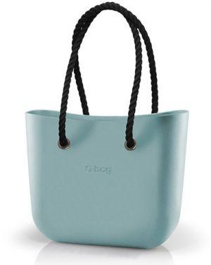 54a074acbd O bag kabelka Polvere s čiernymi povrazovými rúčkami