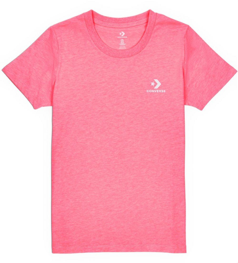 b8984ccd3a79 Converse neónovo ružové tričko Star Chevron Small značky Converse ...