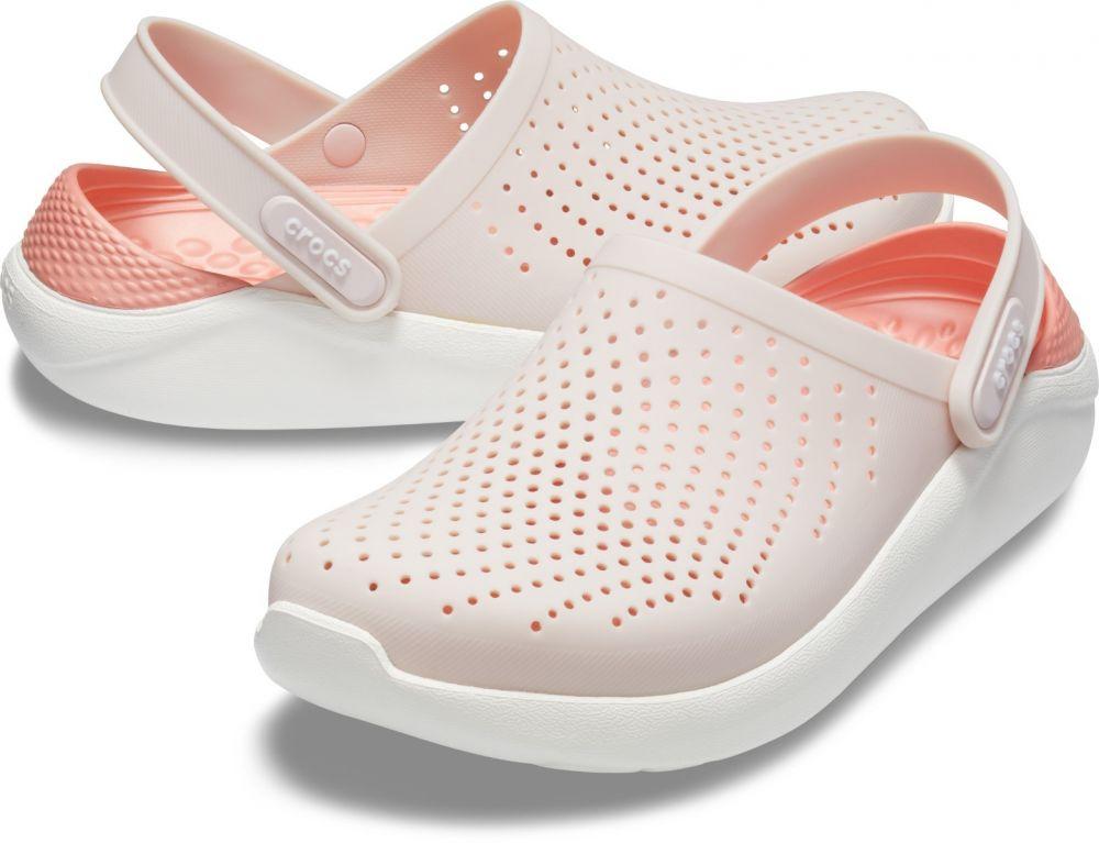316315780 Crocs ružové topánky Literide Clog Barely Pink/White značky Crocs -  Lovely.sk