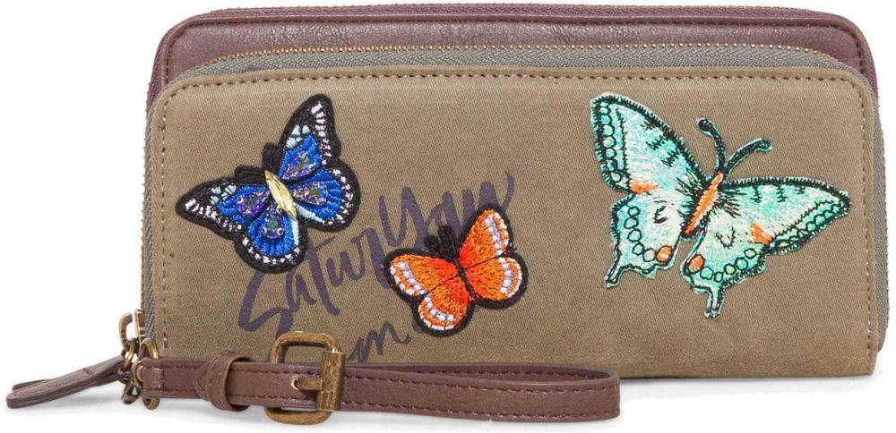 a0fcf4d31 Desigual khaki peňaženka Two Levels Saturyay značky Desigual - Lovely.sk